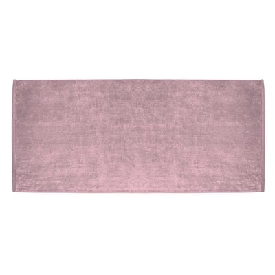 Terry Velour Premium Beach Towel Color: Light Pink