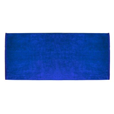 Terry Velour Premium Beach Towel Color: Royal