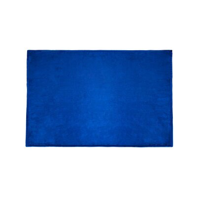 Tahoe Microfleece Throw Color: Royal