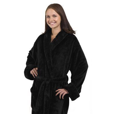 Tahoe Bathrobe Color: Black