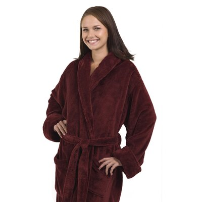 Tahoe Bathrobe Color: Burgundy