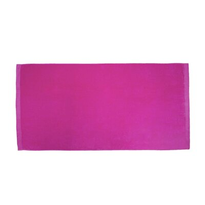Terry Velour Beach Towel Color: Hot Pink