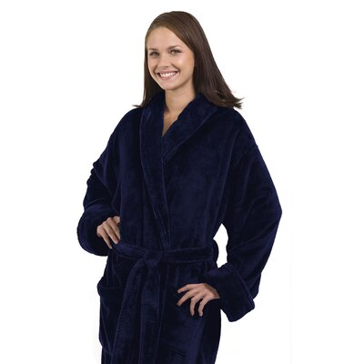 Tahoe Bathrobe Color: Navy