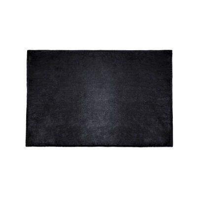 Tahoe Microfleece Throw Color: Black