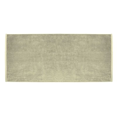 Terry Velour Premium Beach Towel Color: Beige