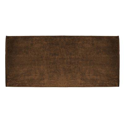 Terry Velour Premium Beach Towel Color: Chocolate