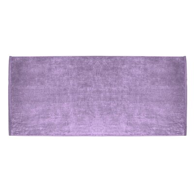 Terry Velour Premium Beach Towel Color: Lavender