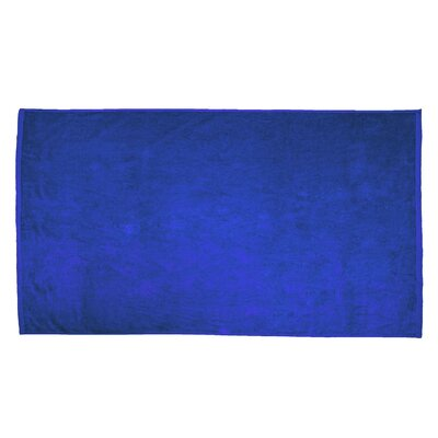 Terry Velour Beach Towel Color: Royal