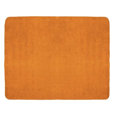 Tahoe Microfleece Throw Color: Orange