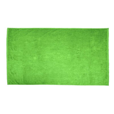 Velour Beach Towel Color: Lime Green