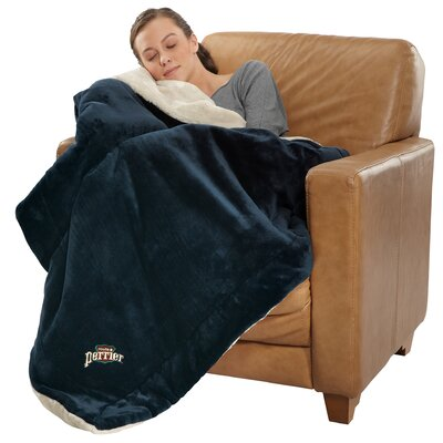 Polyester Throw Color: Navy