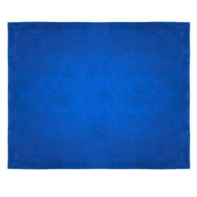 Micro Mink Sherpa Throw Color: Royal
