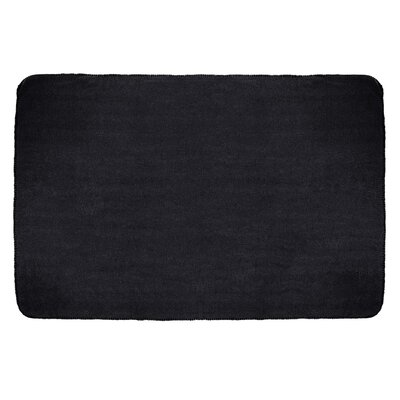 Tahoe Microfleece Throw Color: Black