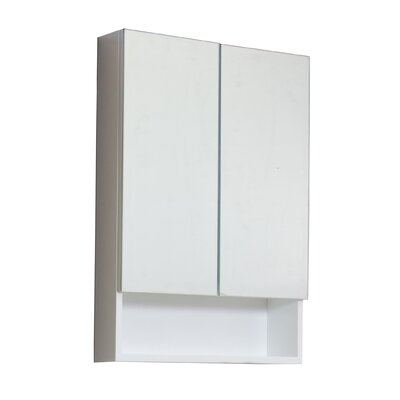 24 x 32 Surface Mount Medicine Cabinet Hardware Finish: Aluminum