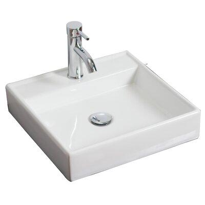 Kaplan Floor Mount 24 Single Bathroom Vanity Set