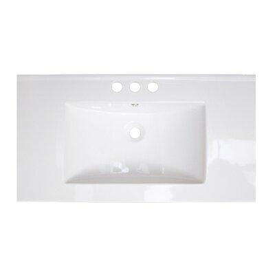 Xena Double Handle 36 Single Bathroom Vanity Top