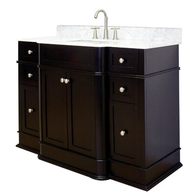 Oneonta Floor Mount 50 Single Bathroom Vanity Set