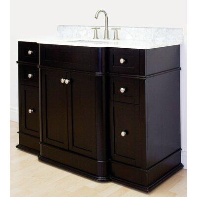 Oneonta Floor Mount 49.25 Single Bathroom Vanity Set