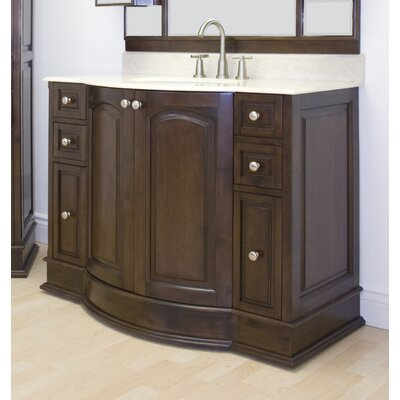 Onondaga Floor Mount 42 Single Bathroom Vanity Set