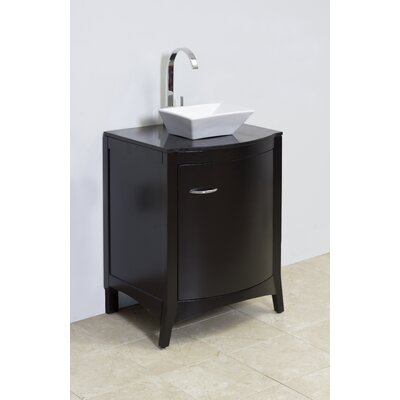 Emily Above Counter Rectangular Vessel Bathroom Sink with Overflow