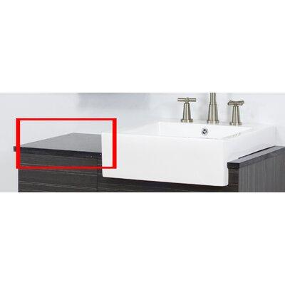 Xena Quartz 14 W x 18.25 D Quartz Top
