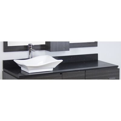 Kaplan Modern Floor Mount 60 Single Bathroom Vanity Set