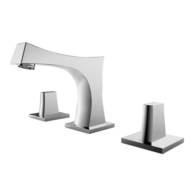 Widespread Double Handle Bathroom Faucet