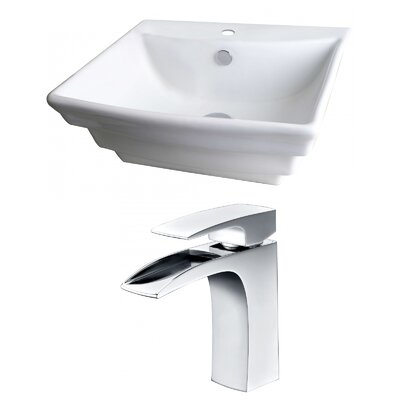 20Wall Mounted Bathroom Sink with Overflow