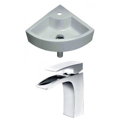 Unique Specialty Ceramic Specialty Vessel Bathroom Sink with Faucet
