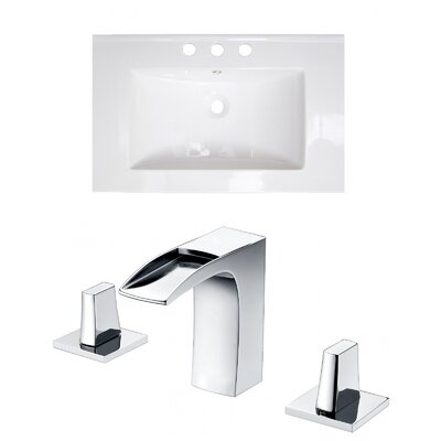 Double Handle 24 Single Bathroom Vanity Top