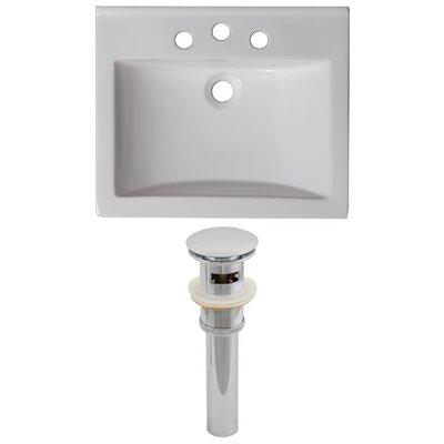 Omni Drop-in 21 Single Bathroom Vanity Top