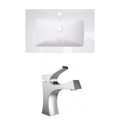Vee Single Handle 21 Single Bathroom Vanity Top