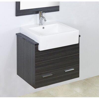 Mulberry Floor Mount 60 Single Bathroom Plywood Vanity Set Faucet Mount: Single Hole