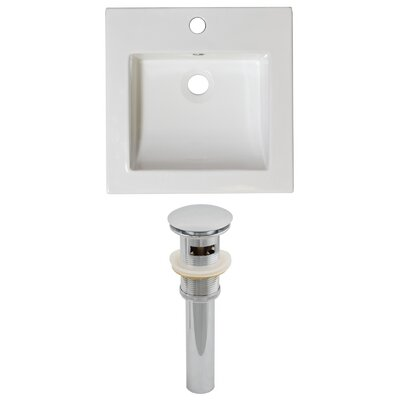 Drop-in 17 Single Bathroom Vanity Top