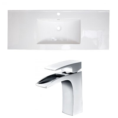 Roxy Ceramic 48 Single Bathroom Vanity Top