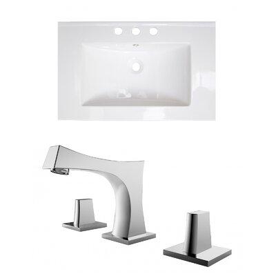 Flair Ceramic 24 Single Bathroom Vanity Top