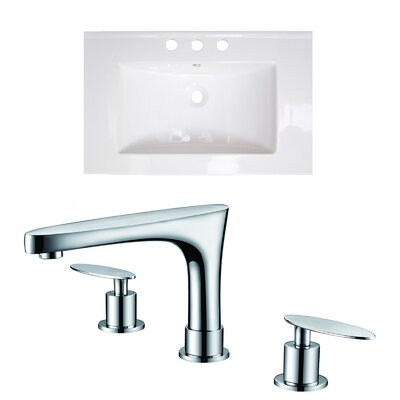 Flair Single Bathroom Vanity Top