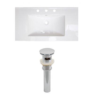 Flair Drop-in 37 Single Bathroom Vanity Top