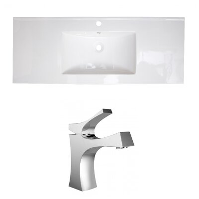 Roxy Single Handle 48 Single Bathroom Vanity Top