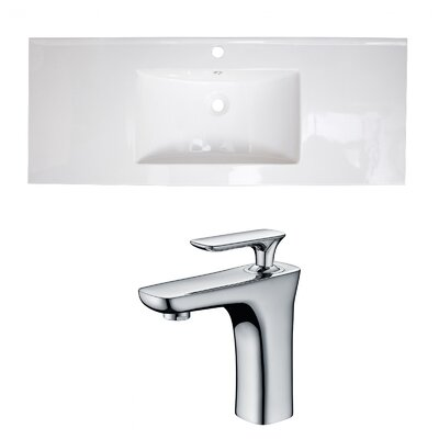 Single Handle 40 Single Bathroom Vanity Top