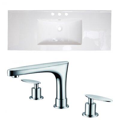 Drop-in 40 Single Bathroom Vanity Top