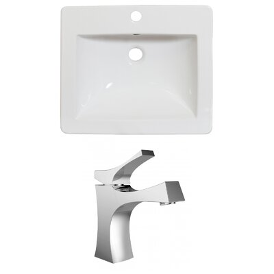 Single Handle 21 Single Bathroom Vanity Top