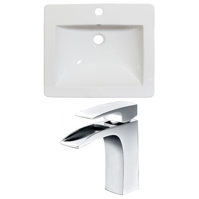 Single Handle 21 Single Bathroom Vanity Top
