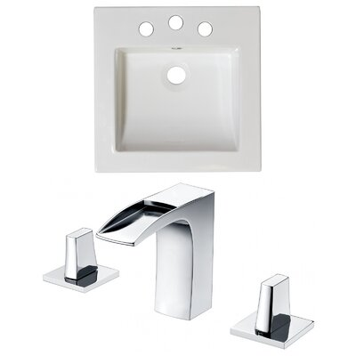 Single Bathroom Vanity Top