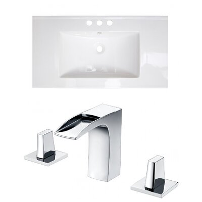 Xena Double Handle 36 Single Bathroom Vanity Top
