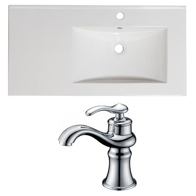 Drop-in 36 Single Bathroom Vanity Top
