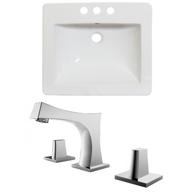 Double Handle 21 Single Bathroom Vanity Top