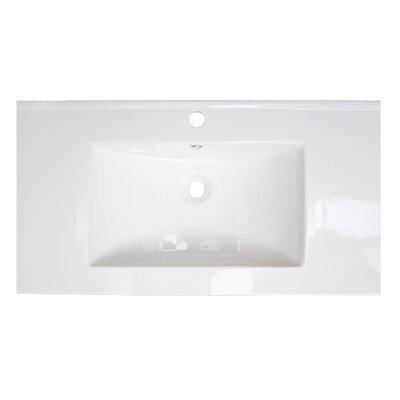 Single Handle 36 Single Bathroom Vanity Top