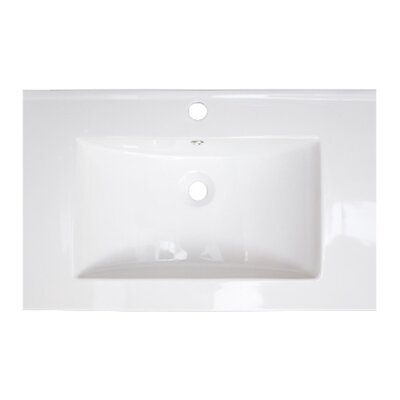 Vee Single Handle 30 Single Bathroom Vanity Top