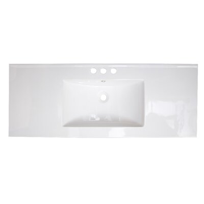 Alum Drop-in 48 Single Bathroom Vanity Top